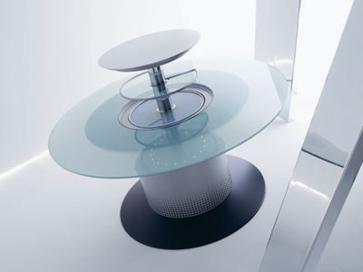 Smart table, mesa y nevera en uno