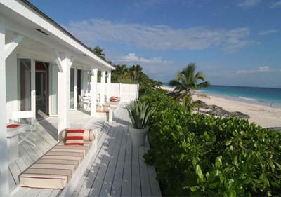 Una casa en la playa
