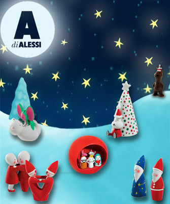 Alessi Christmas Figure