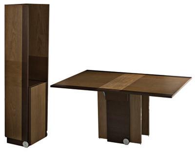 Mesa de comedor para espacios pequeños