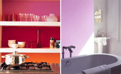 Últimas tendencias en color para cocinas y baños
