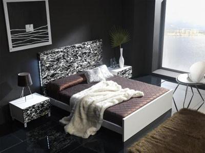 Un dormitorio artístico