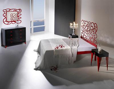 Forja para un dormitorio romántico