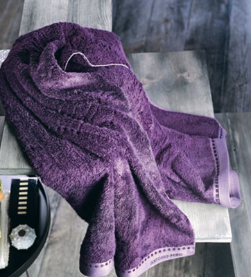 Alma, la toalla ecológica de Antonio Miró