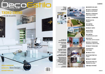 DecoEstilo Magazine - Julio 2009