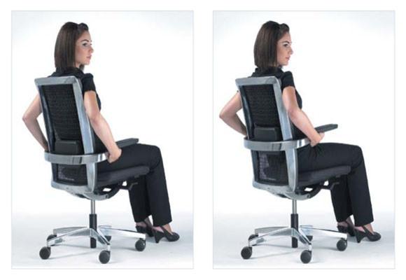 La postura correcta ante el ordenador