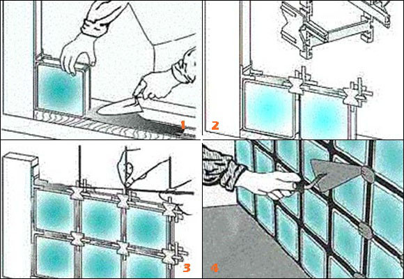 Imagen Levantar tabiques traslúcidos de pav