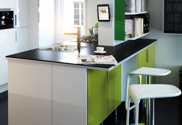Desaparece la mesa de la cocina - Soluciones - DecoEstilo.com