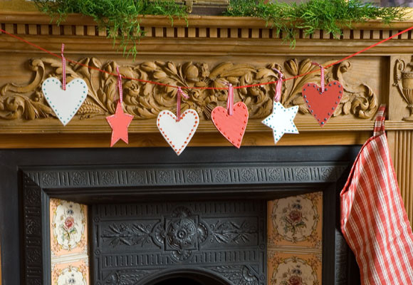 Adornos de Navidad, de madera