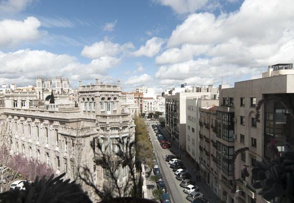 Una casa muy luminosa en Madrid