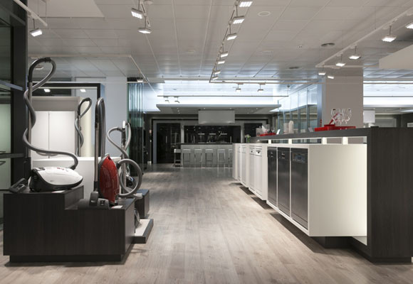Showroom Miele, en Madrid