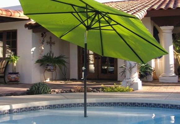 Elegir una sombrilla para la casa o el patio