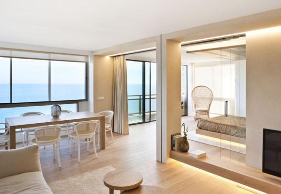 Un apartamento mirando al mar