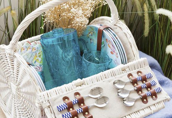 De picnic para celebrar el día de la madre