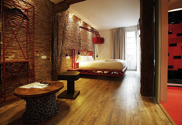 Basque Boutique, un original hotel en Bilbao.