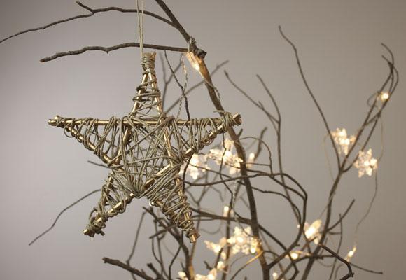 Cómo crear una estrella de Navidad
