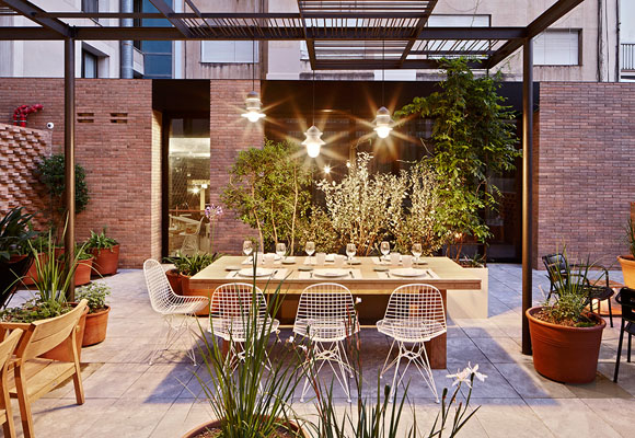 Patio, un secret place al aire libre